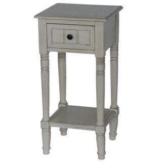 Hunt Home Rectangular Accent Table with Drawer