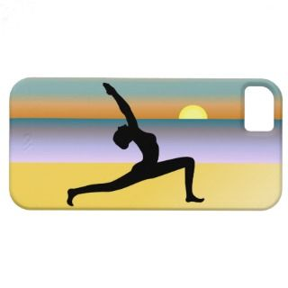 Yoga Sunrise Pose iPhone 5 Barely There Case Cover iPhone 5 Cover