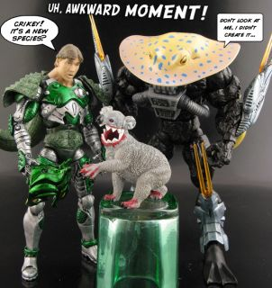 Custom Steve Irwin vs Death Ray Marvel Legends DC Universe Action
