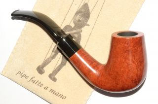 MASTRO GEPPPETTO HANDCUT by SER JACOPO FULL BENT STAND UP CHIMNEY pipe