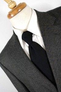 Mens Black White Jack Victor Lindenwood Jacket Blazer Sport Coat 3Btn