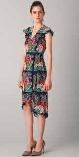Nanette Lepore Most Lovable Print Midi Dress