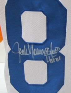 Jack Youngblood Signed Los Angeles Rams Custom Jersey SI