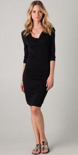Velvet Vesna Slinky Cowl Neck Dress