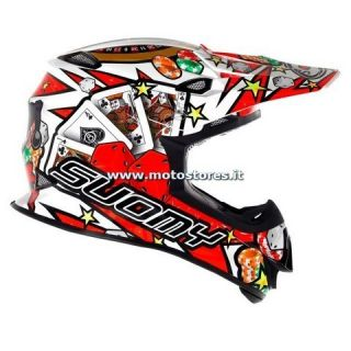 Casco Moto Cross Suomy Mr Jump Jackpot 2013