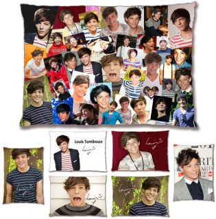 Louis Tomlinson One Direction Photo Collage Pre Printed Signature
