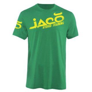 Jaco Clothing MMA UFC Overspray Michael Johnson Walkout Green Mens Tee