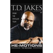 Bishop TD Jakes He Motions The Message DVD