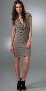 Helmut Lang Cowl Neck Dress