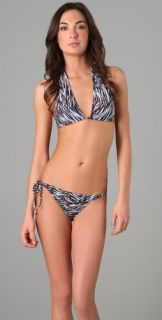 Diane von Furstenberg Kissa Triangle Bikini Top