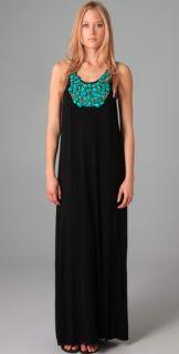 Tbags Los Angeles Necklace Bib Long Dress