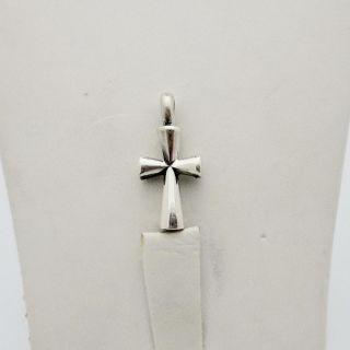 James Avery Sterling Silver St Teresa Cross Charm