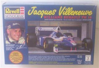 Revell 1 24 Le Jacques Villenveuve Renault FW 19 Race Car Model Kit