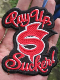 Up $ Sucker Patch Jesse James West Coast Choppers Red Blood CFL