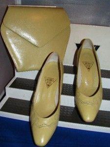 Jacques Vert Vintage Classic Shoe Bag Set UK 5 EU 38