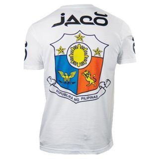 Jaco Clothing MMA Philippines Walkout Tee Shirt White Shirt 3XL