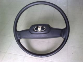 70 87 Jaguar XJ6 Sovereign Steering Wheel Leather Black