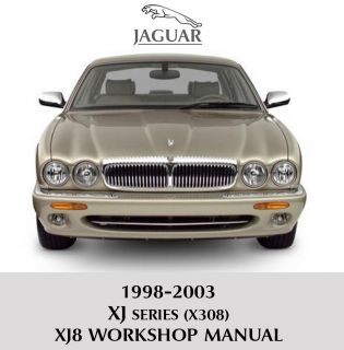 1998 2003 Jaguar XJ XJ8 XJR X308 Workshop Service Repair Manual Wiring