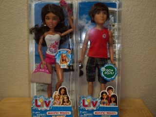 PRETTY LIV ALEXIS & CUTE JAKE DOLL   AWESOME PAIR   NIB   FAST FREE
