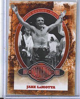 Jake LaMotta 10 Sports Kings Boxing Card 89