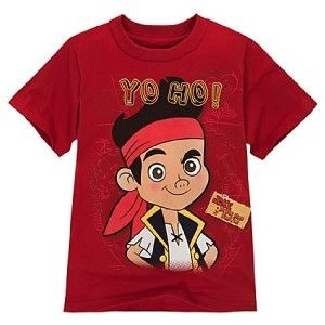 Jake and The Neverland Pirates Boys 2T 3T 4T 5T 4 5 6 7 8 Tee Shirt