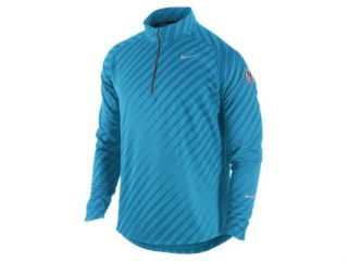Nike Element Jacquard Long Sleeve Running Shirt 451280 Mens Size L