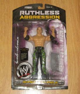 Jakks Pacific WWE Wrestling Figure Ruthless Aggression Series 25 Shawn
