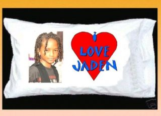 Love Jaden Smith Pillowcase Red Heart Karate Kid
