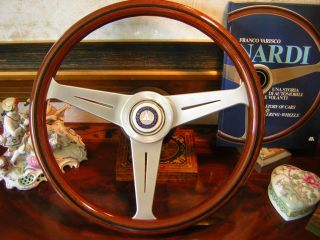 Mercedes W107 450 SL 500 SL 560 SL 80 89 Nardi Wood Steering Wheel 15