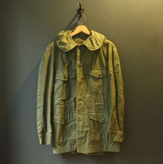 VIETNAM War US ARMY M 65 OG 107 Cotton Sateen FIELD JACKET Coat SMALL