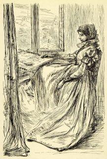 1911 Print James Abbott McNeill Whistler Art Saint Bartholomew
