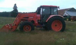 2008 Kubota M125 Tractor