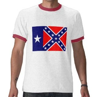 Texas Rebel Flag Shirt