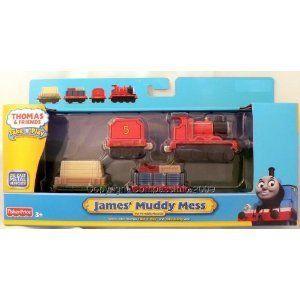 Thomas Friends Take N Play James Muddy Mess Train Set