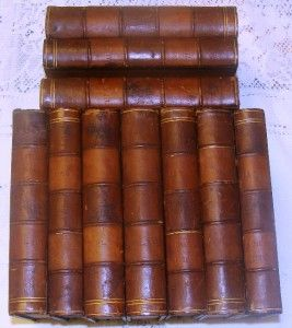The Life of Samuel Johnson by Boswell 10 Volumes 1846 Published by H