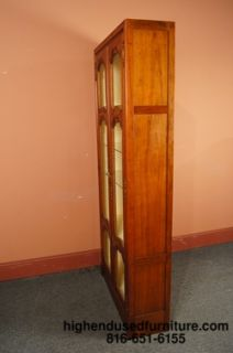 Baker Furniture Country French 37 Lighted Curio Cabinet Wall Unit