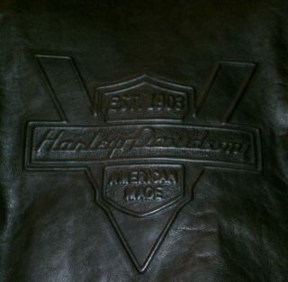Harley Davidson Heritage Leather Jacket 2XL XXL