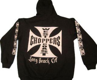 Pugsgear Mens Jesse Who West Coast Choppers Urban Hoodie Jacket