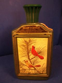 Jim Beam Cardinal Decanter James Lockhart Artwork
