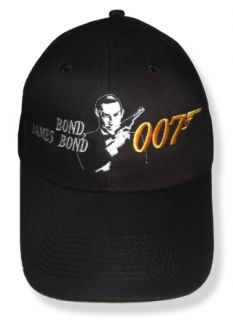 James Bond Embroidered Cap or Hat Sean Connery 007 Q M