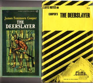 Deerslayer by James Fenimore Cooper Cliff Notes Study Guide Free