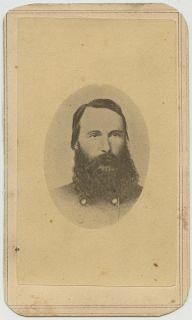 Confederate General James Longstreet CDV. Robert E Lees Old War Horse