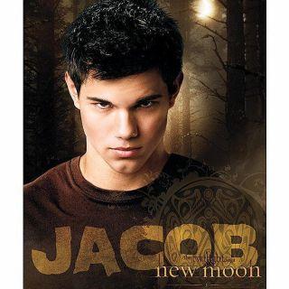 Twilight Werewolf Jacob Licensed Fleece Throw Blanket