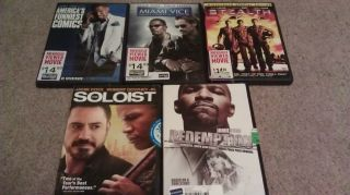 Jamie Foxx Movie Lot Miami Vice The Soloist