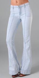 J Brand Loni High Rise Wide Leg Jeans