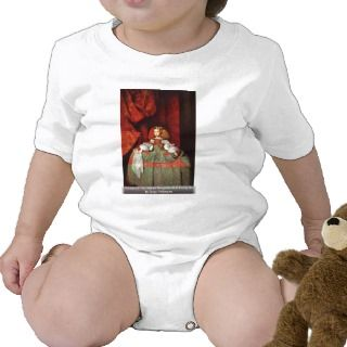Portrait Of The Infanta Margarita As A Young Girl Tee Shirt