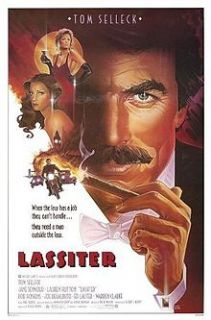 Lassiter 1984 Warner Home Video Tom Selleck Jane Seymour Nude Big Box