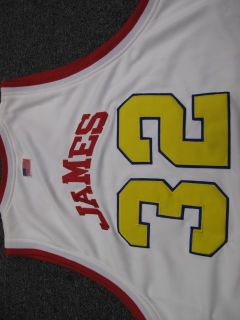 NBA Jersey Lebron James McDonalds All American Cavalier