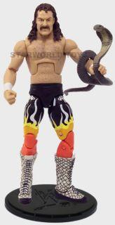 Loose WWE Legends Series 2 Jake The Snake Roberts Figure Mattel 2010