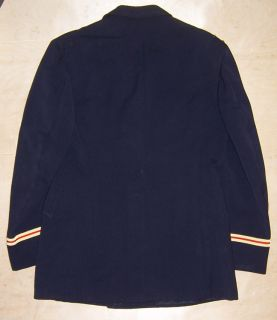 US Army Officer Dress Blue Uniform Coat 38R with Artillery Cuff Bands